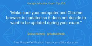 Level 1 Google Certification Tips