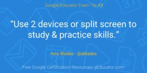 Certification Tip - Amy Blades