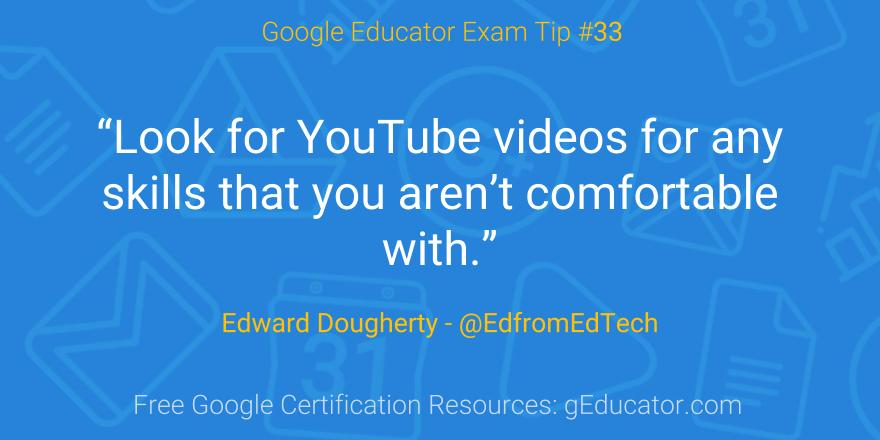 50 Level 1 Certification Tips From Google Certified Educators
