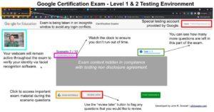Kryterion exam interface