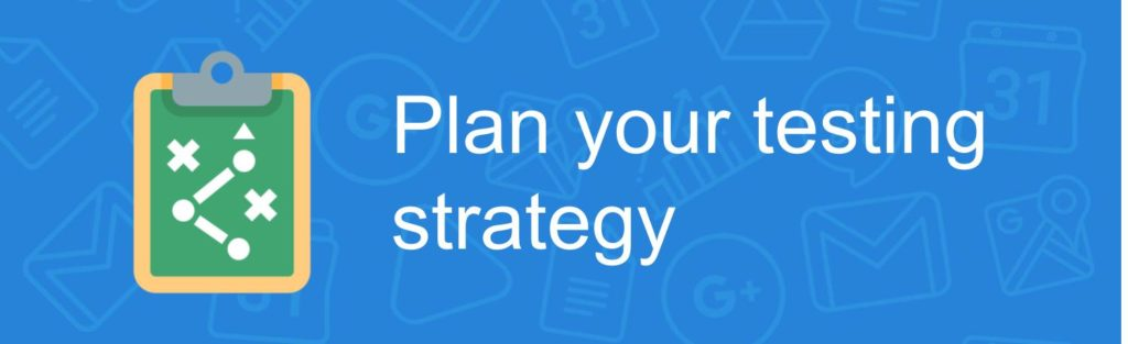 Plant your testing strategy