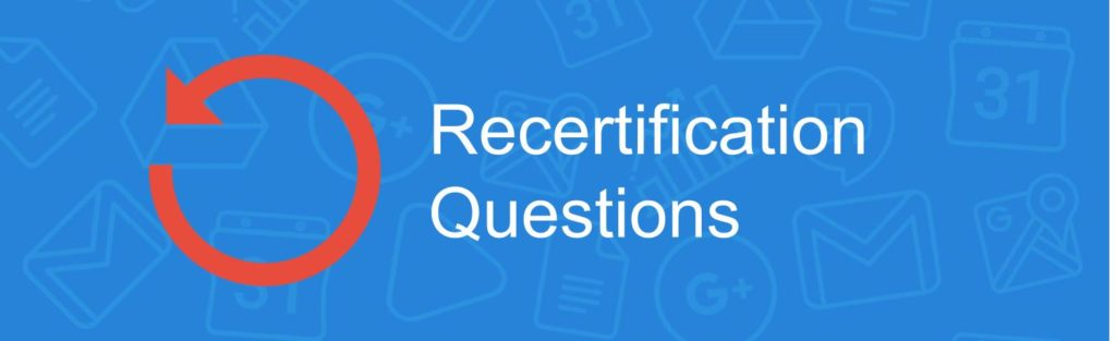 Google Educator Certification Questions
