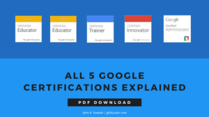 All 5 Google Certifications Explained (PDF Download)