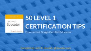 50 Level 1 Certification Tips
