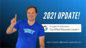2021 level 1 google educator exam