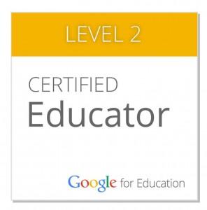 Google Certified Educator - Level 2